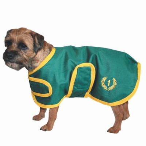 Hundedecke No 1 in grün von Blue Cheval