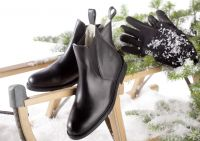 Reitstiefelette USG New Allround Winter Leder