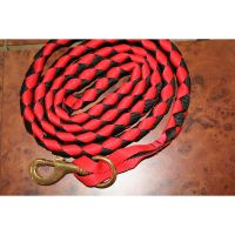 Führstrick Rot Schwarz 2 Meter