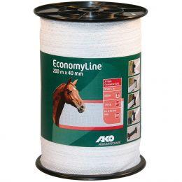 Weidezaunbreitband 40mm 200m Rolle Economy Line Weideband