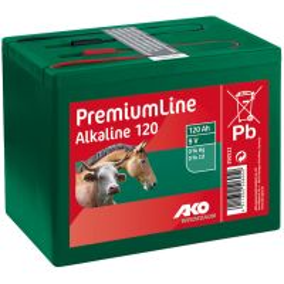 Alkaline Trockenbatterie 9 Volt 120 Ah