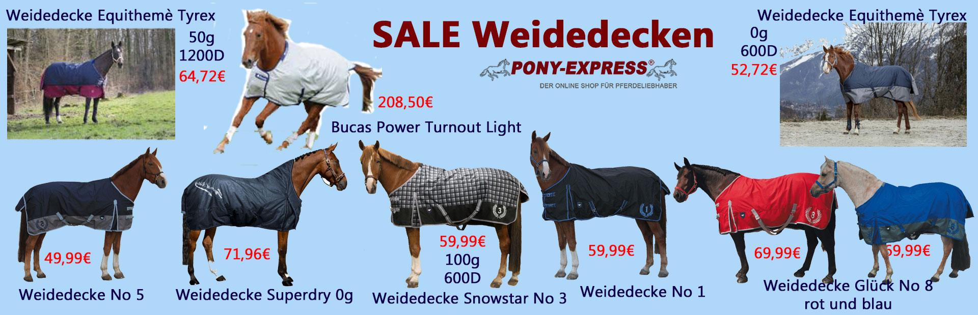 Weidedecken bei Pony-Express.de