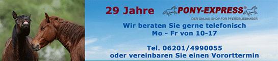 Pony-Express Reitsport Pferde und Reiter Shop
